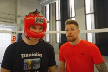 Sisällöntuottajien tyrmääjä iski taas – Daniel Ahola ja kumppanit kohtasivat UFC-ottelija Teemu Packalenin!