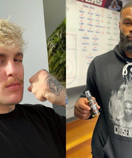 Kuva: Tyron Woodley otti vihdoin Jake Paul -tatuoinnin – tubettaja naljaili vastauksessaan